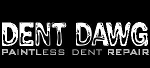Dent Dawg Logo White
